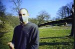 Matthew Hogg wearing icanbreathe carbon filter mask for multiple chemical sensitivity (MCS)