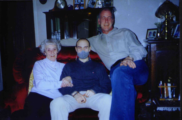 Me with family, Christmas 2003