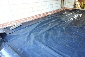 Damp proof membrane prevents mould in buildings