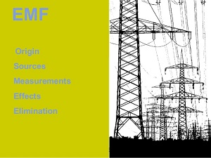 Electricity pylons and EMF sources