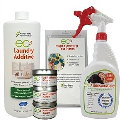 EC3 Environmental Mold Testing and Treatment Kit