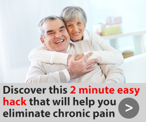 Elderly couple pain-free and happy