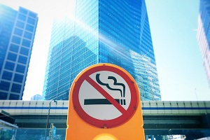 Large No Smoking Sign