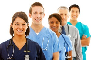Nurses and other medical professionals
