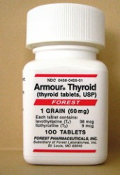 Natural alternative to thyroxine